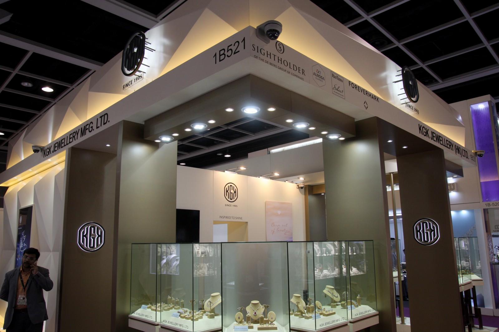 Exhibition Booth Rental Hong Kong : Hong kong jewellery gem fair kgk group