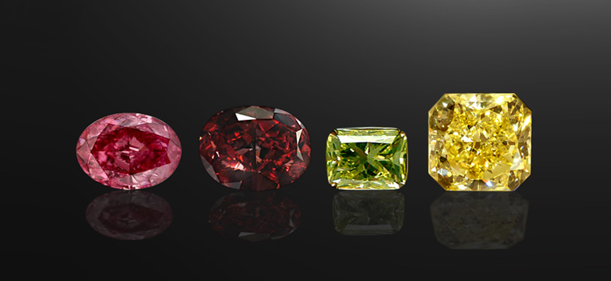 Coloured Diamonds: What You Need To Know About Them
