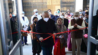 "BMCHRC Inaugurates ""Arogya Dham"""