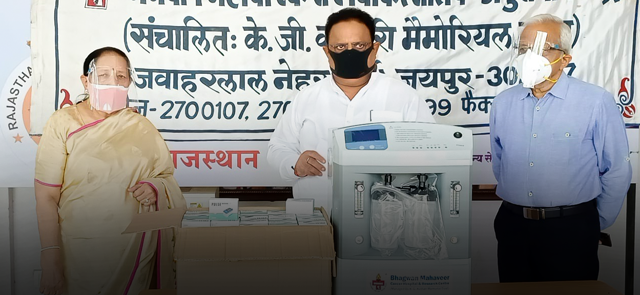Helping The Needy: BMCHRC Donates Oxygen Concentrators And Oximeters To State Government